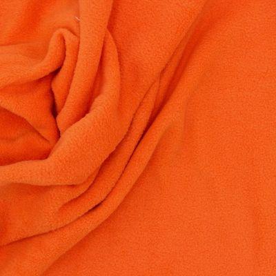 Tissu polar orange