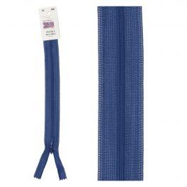 Invisible zipper light blue