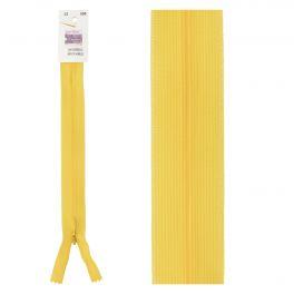 Invisible zipper gold-coloured
