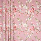 Fluweel met digitale prints - roos achtergrond