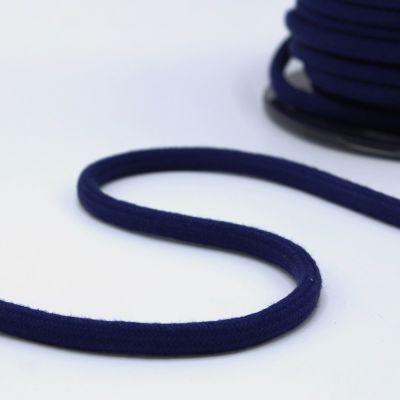 cordon en coton 8mm bleu marine