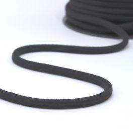 cordon en coton 8mm gris foncé