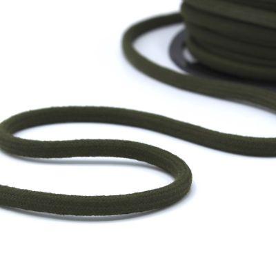 cordon en coton 8mm kaki