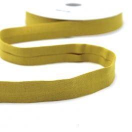 Jersey biaisband - staalblauw