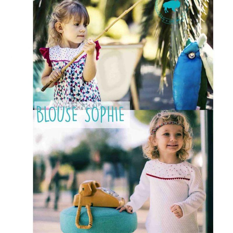 Patron blouse Sophie