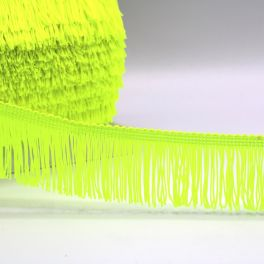 Franjes - fluo geel