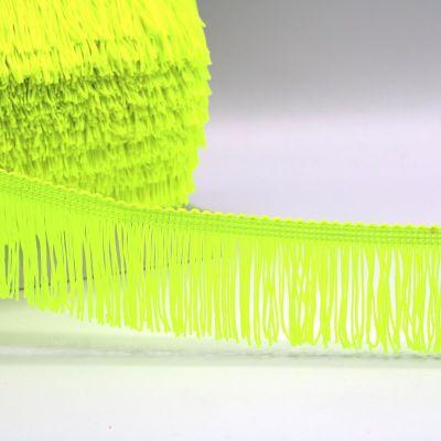 Frange jaune fluo