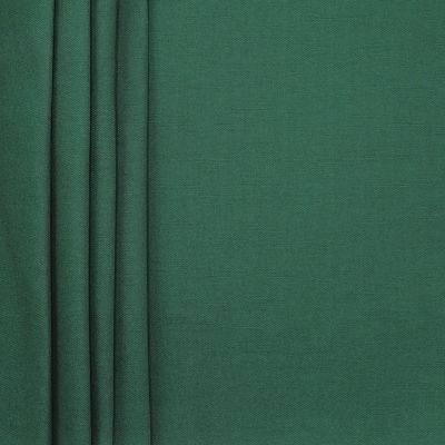 Tissu en coton uni vert