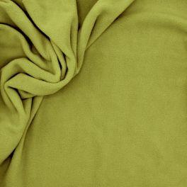 fleece fabric - apple green