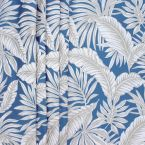 Upholstery jacquard fabric with foliage pattern