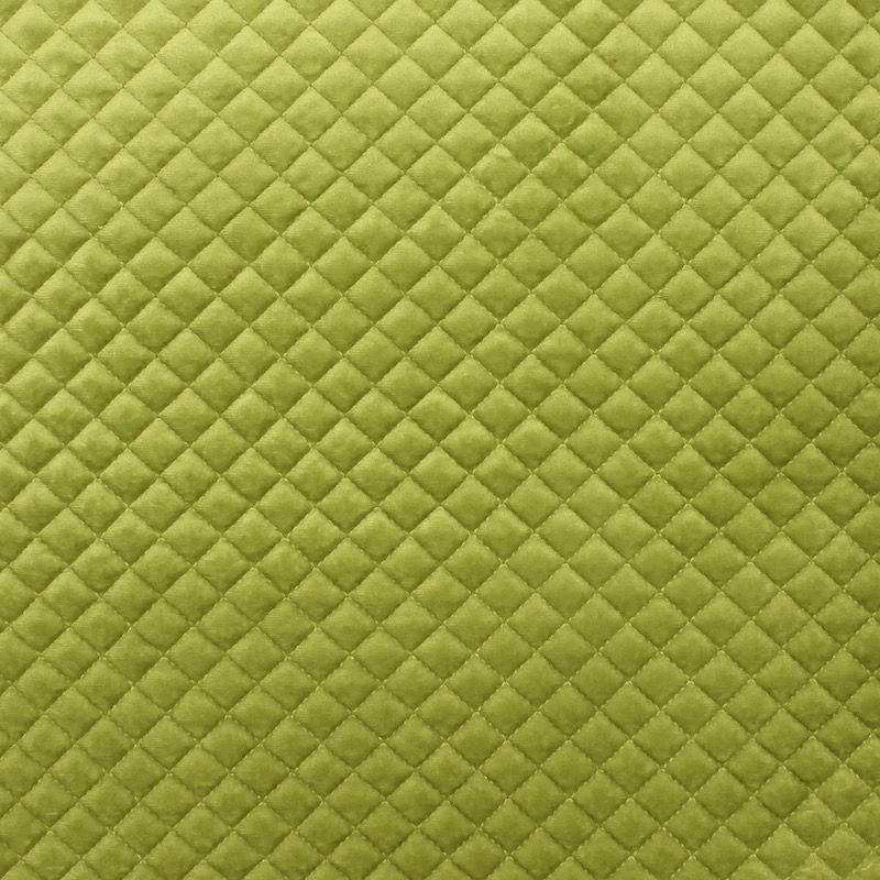 Padded velvet - Green anise