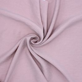Reversible faux washed silk - pink