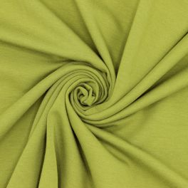 Duffled sweater fabric - Olive green