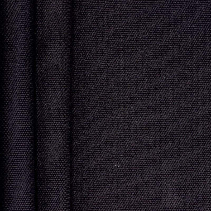Zwarte katoen stof