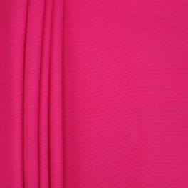 Plain cotton fabric - vivid pink