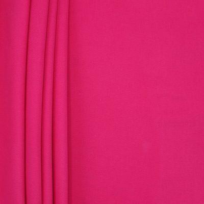 Tissu en coton uni rose vif