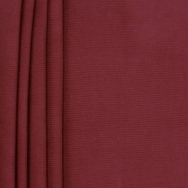 Plain cotton fabric - garnet red