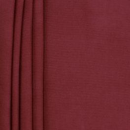 Tissu en coton uni rouge grenat