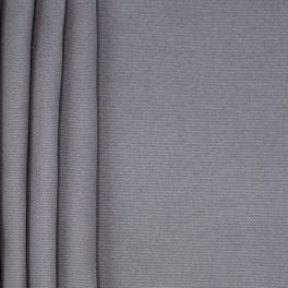 Plain cotton fabric - grey