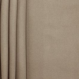 Plain cotton fabric - bistre