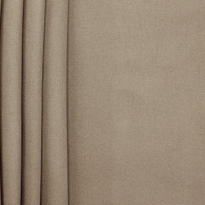 Tissu en coton uni bistre