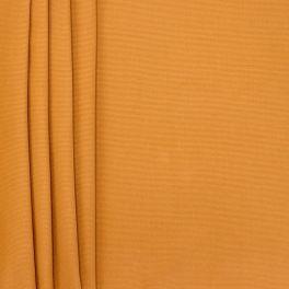 Tissu en coton uni moutarde