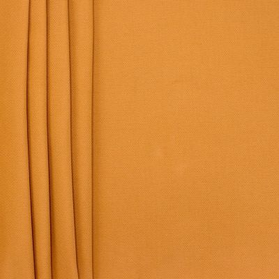 Plain cotton fabric - mustard yellow