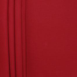 Tissu en coton uni rouge carmin