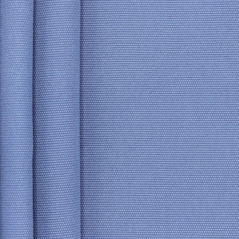 Blauwe katoen stof