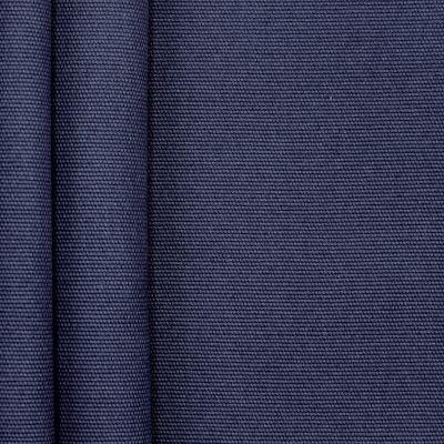 Tissu en coton uni bleu azur