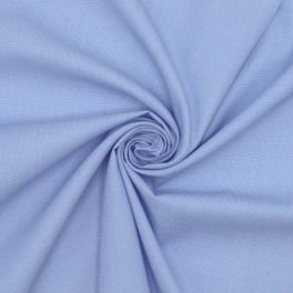 Tissu jacquard 100% coton bleu