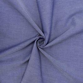 Tissu jacquard en coton bleu