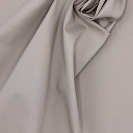 Stretch fabric with twill weave - beige