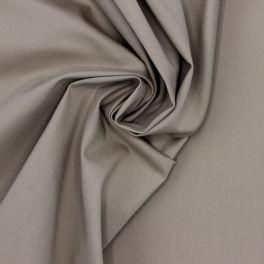 Emerised stretch fabric  with twill weave - beige