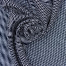 Beige brushed cotton fabric