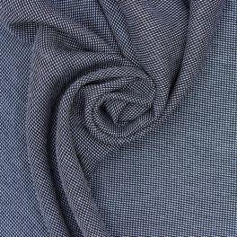 Tissu en polyester noir et blanc
