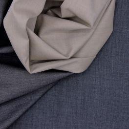 Gabardine 100% coton grise
