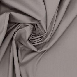 Tissu coton stretch beige