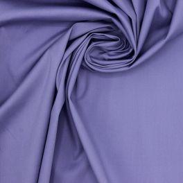 Tissu coton stretch lilas