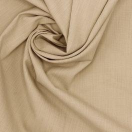 Toile de coton flammée émerisé beige