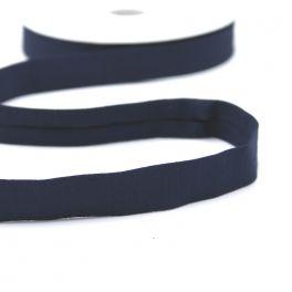 Jersey rekbaar biaisband - marineblauw