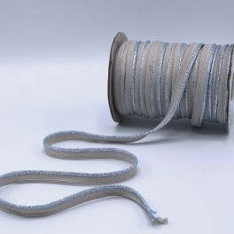 Lurex piping cord - sand