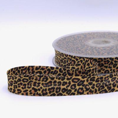 Biais à motif léopard