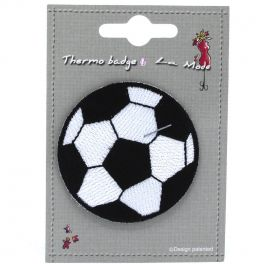 Iron-on patch football