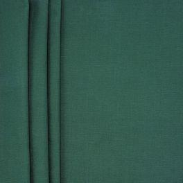 Toile de coton brossée émeraude