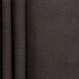 Toile de coton brossée anthracite