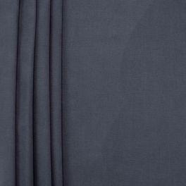 Toile de coton brossée bleu jeans