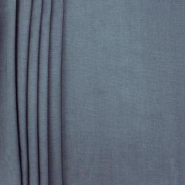 Toile de coton brossée bleu polaire