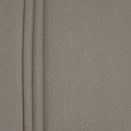 Toile de coton brossée gris