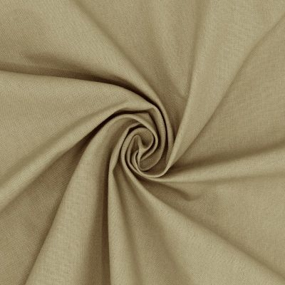 Cretonne - plain khaki